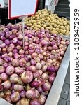 how much per kilos for onion... | Shutterstock . vector #1103472959