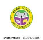 australia book lover... | Shutterstock .eps vector #1103478206