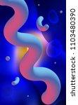 dark blue  red vertical... | Shutterstock . vector #1103480390