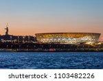 1 june  2018  volgogard  russia.... | Shutterstock . vector #1103482226
