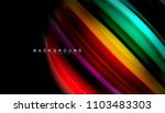 abstract wave lines fluid... | Shutterstock .eps vector #1103483303