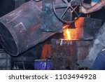 casting is a manufacturing... | Shutterstock . vector #1103494928