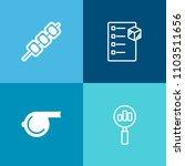 modern  simple vector icon set... | Shutterstock .eps vector #1103511656