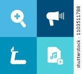modern  simple vector icon set... | Shutterstock .eps vector #1103511788