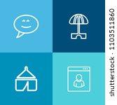 modern  simple vector icon set...   Shutterstock .eps vector #1103511860