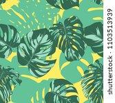 seamless tropical pattern....   Shutterstock .eps vector #1103513939