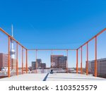 basketball playground on the... | Shutterstock . vector #1103525579