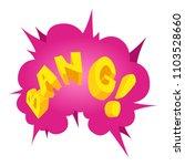 bang speech bubble icon.... | Shutterstock .eps vector #1103528660