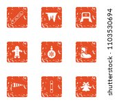 winter flavour icons set.... | Shutterstock .eps vector #1103530694