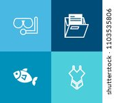 modern  simple vector icon set... | Shutterstock .eps vector #1103535806