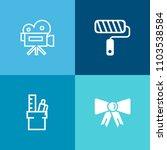 modern  simple vector icon set... | Shutterstock .eps vector #1103538584