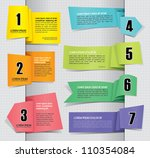 set of paper tag labels | Shutterstock .eps vector #110354084