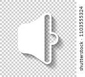 simple volume medium. white...