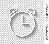 alarm clock. linear  thin...