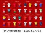 all home jerseys for soccer... | Shutterstock .eps vector #1103567786