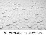 sci fi door digital  background ... | Shutterstock . vector #1103591819