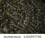 top down aerial drone image of... | Shutterstock . vector #1103597750