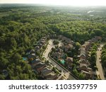 top down aerial drone image of... | Shutterstock . vector #1103597759