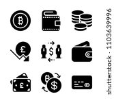 economy vector icon set. design ... | Shutterstock .eps vector #1103639996
