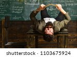 education activities in... | Shutterstock . vector #1103675924