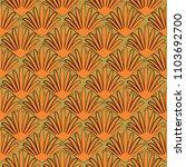 seamless  pattern in art...   Shutterstock .eps vector #1103692700