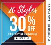 sale banner template  big sale... | Shutterstock .eps vector #1103692793