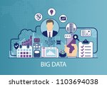 big data vector illustration... | Shutterstock .eps vector #1103694038