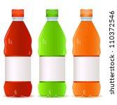 set of bottles | Shutterstock .eps vector #110372546