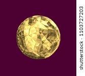 vector illustration golden... | Shutterstock .eps vector #1103727203