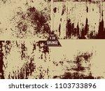 4 metal rust old vector textuer ... | Shutterstock .eps vector #1103733896