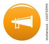 portable megaphone icon. simple ...   Shutterstock .eps vector #1103735993