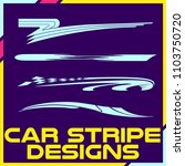 tribal and cool car stripe... | Shutterstock .eps vector #1103750720
