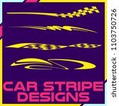 tribal and cool car stripe... | Shutterstock .eps vector #1103750726