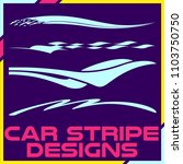 tribal and cool car stripe... | Shutterstock .eps vector #1103750750