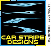 tribal and cool car stripe... | Shutterstock .eps vector #1103750759