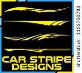 tribal and cool car stripe... | Shutterstock .eps vector #1103750783