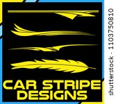 tribal and cool car stripe... | Shutterstock .eps vector #1103750810