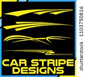 tribal and cool car stripe... | Shutterstock .eps vector #1103750816