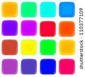 multicolor icon of honey drop | Shutterstock . vector #110377109