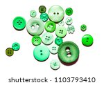 multicolored buttons isolated... | Shutterstock . vector #1103793410