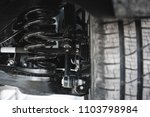 Small photo of car suspension. parts.
