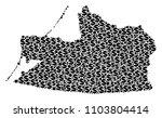 kaliningrad region map...   Shutterstock .eps vector #1103804414