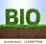 grass growing in the shape of... | Shutterstock . vector #1103837948
