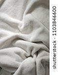 white soft wrinkle fleece... | Shutterstock . vector #1103846600