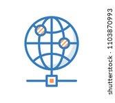 internet server vector icon
