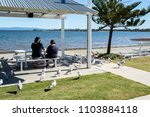 woody point  australia   may 31 ... | Shutterstock . vector #1103884118