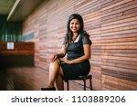 portrait of a confident ... | Shutterstock . vector #1103889206