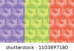 simple geometry seamless... | Shutterstock .eps vector #1103897180