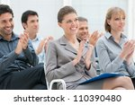 Happy Business Group Of People...