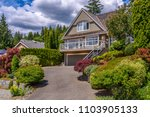 luxury house in vancouver ... | Shutterstock . vector #1103905133